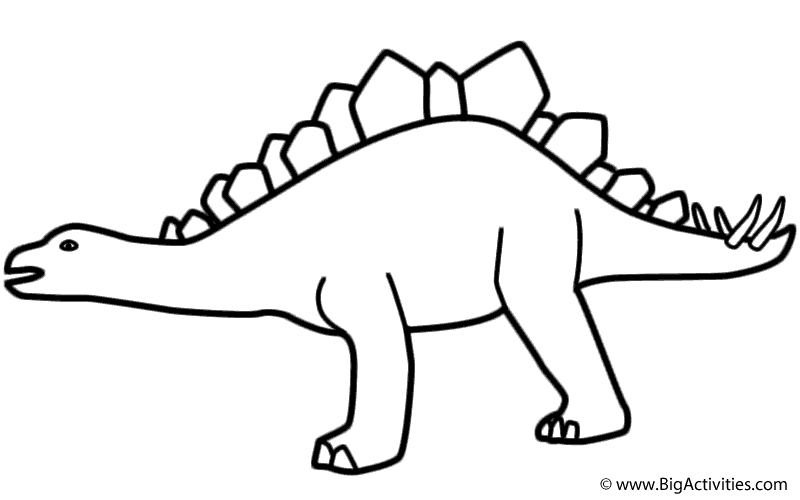 800x500 Pterodactyl Drawing Stegosaurus For Free Download