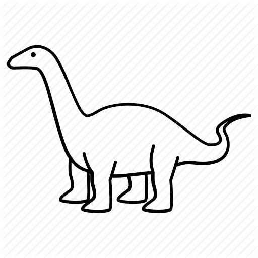 512x512 Collection Of Free Stegosaurus Drawing Brachiosaurus Download
