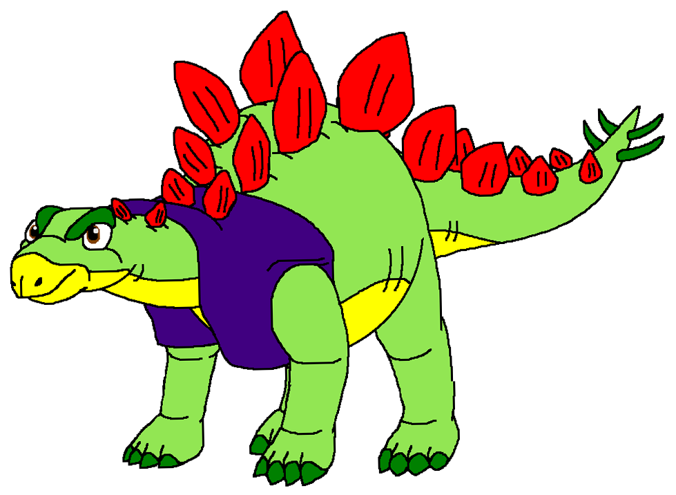 979x716 Collection Of Free Stegosaurus Drawing Cartoon Download On Ui Ex