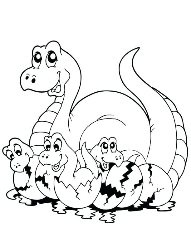 612x792 How To Draw A Cartoon Dinosaur Step