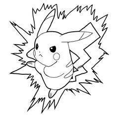 Steps Drawing Pikachu