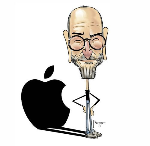 Steve Jobs Drawing