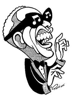 Stevie Ray Vaughan Drawing