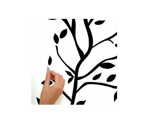 524x437 Tree Branches Peel And Stick Deco Wall Decals