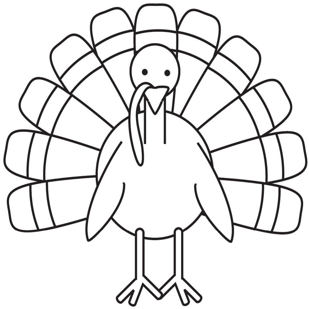 Stick Turkey Drawing
