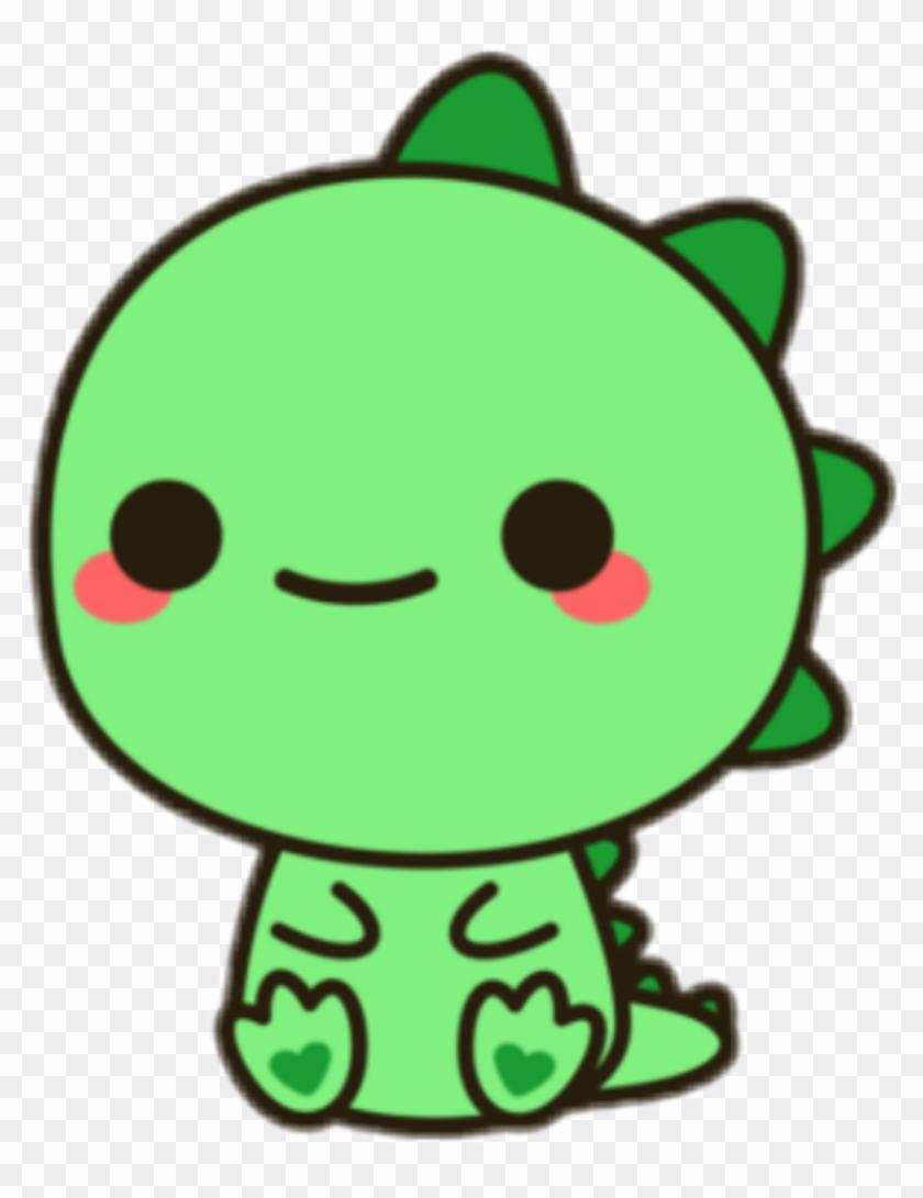 840x1091 Dinosaur Green Tumblr Stickers Sticker Adesivos Png