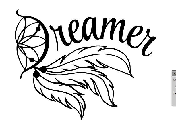 619x441 dream catcher decal, yeti decal, dreamer decal, dream decal, dream