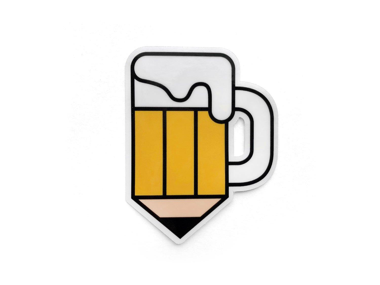 1500x1125 drink and draw society sticker nucleus portland