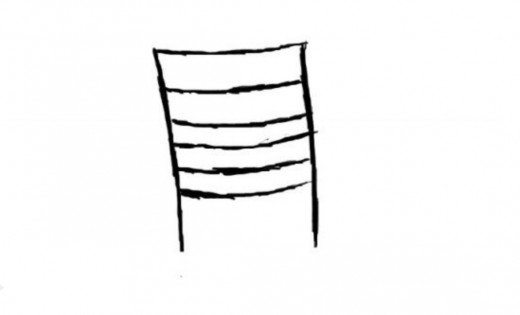 520x315 How To Draw A Chair Feltmagnet