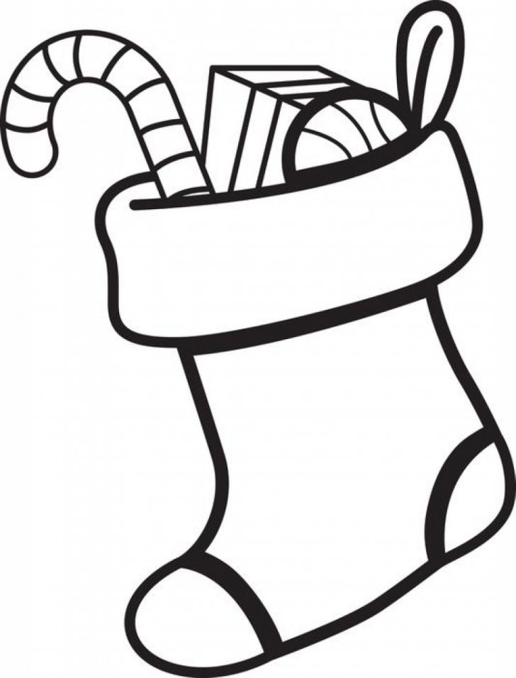 Stocking Drawing | Free download on ClipArtMag