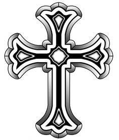Stone Cross Drawing