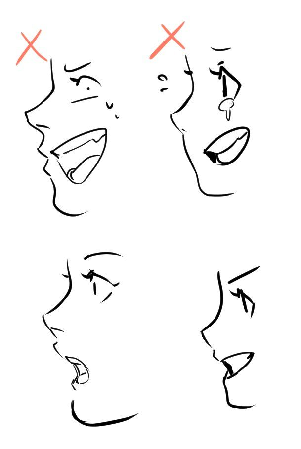 609x909 Just A Reminder When Drawing Mouth On Face Side View It Pains Me