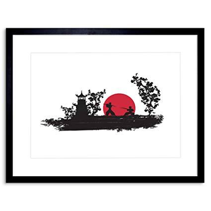 425x425 The Art Stop Painting Drawing Samurai Combat Fight