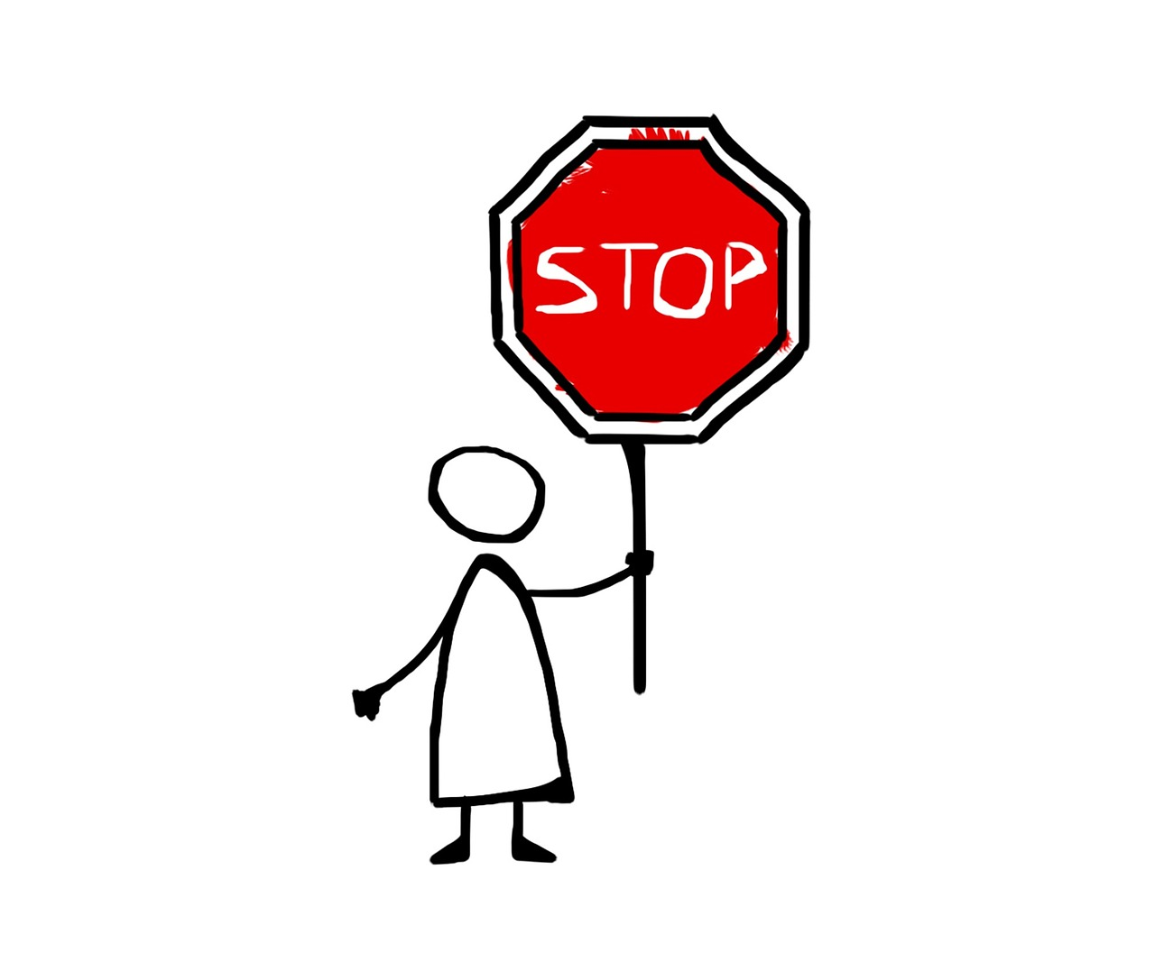 1280x1077 Stop,drawing,icon,comics,road Sign