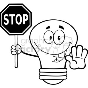 Stop Sign Drawing
