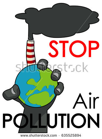 345x470 How To Draw Stop Pollution Clip