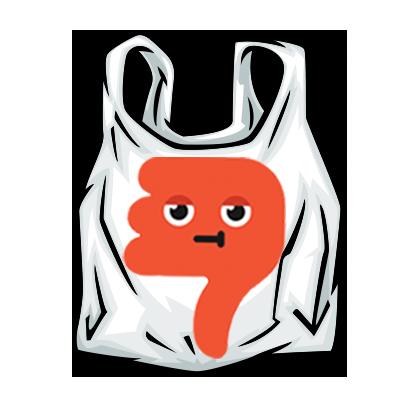 420x420 Plastic Bags