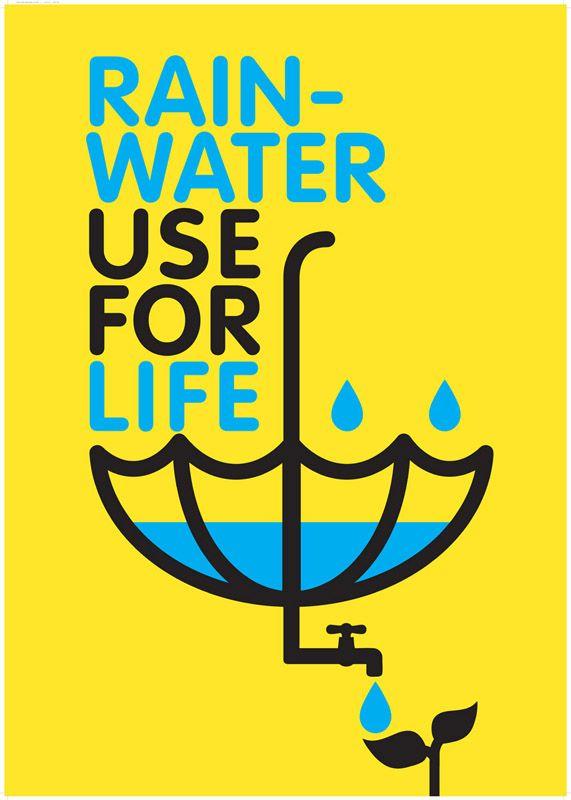 571x800 Poster Design For Rainwater Harvesting Little Stuff Water