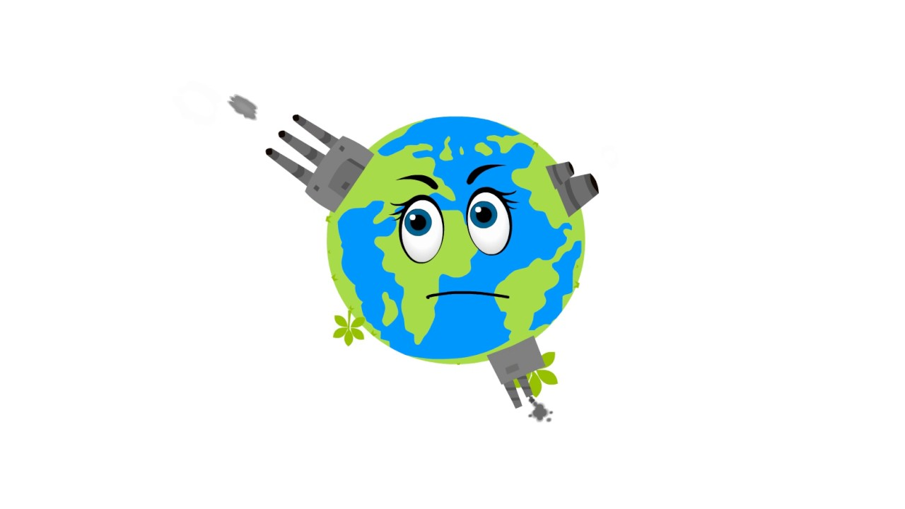 1280x720 Stop Pollution Short Animation