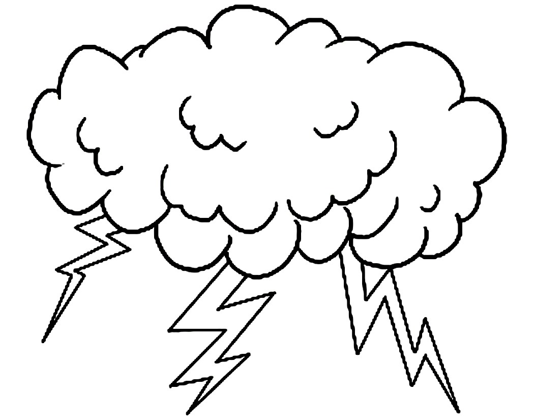 Storm Cloud Drawing