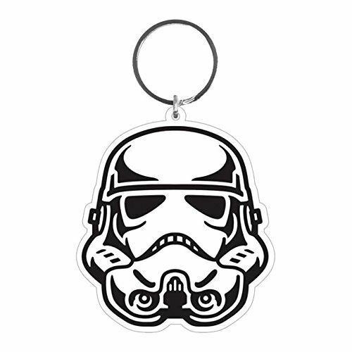 500x500 official star wars stormtrooper helmet rubber flexible keyring
