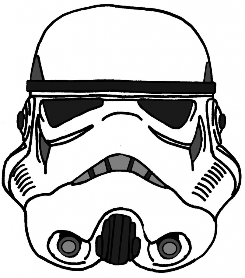 image relating to Stormtrooper Mask Printable identified as Stormtrooper Mask Drawing Absolutely free obtain perfect Stormtrooper