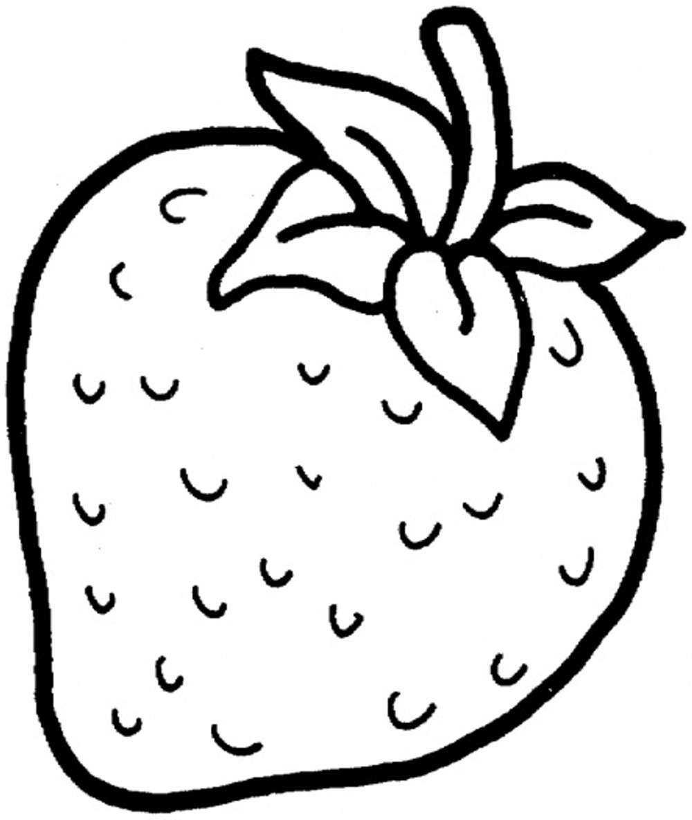 1000x1185 Strawberry Drawing Fresh Fruit For Free Download