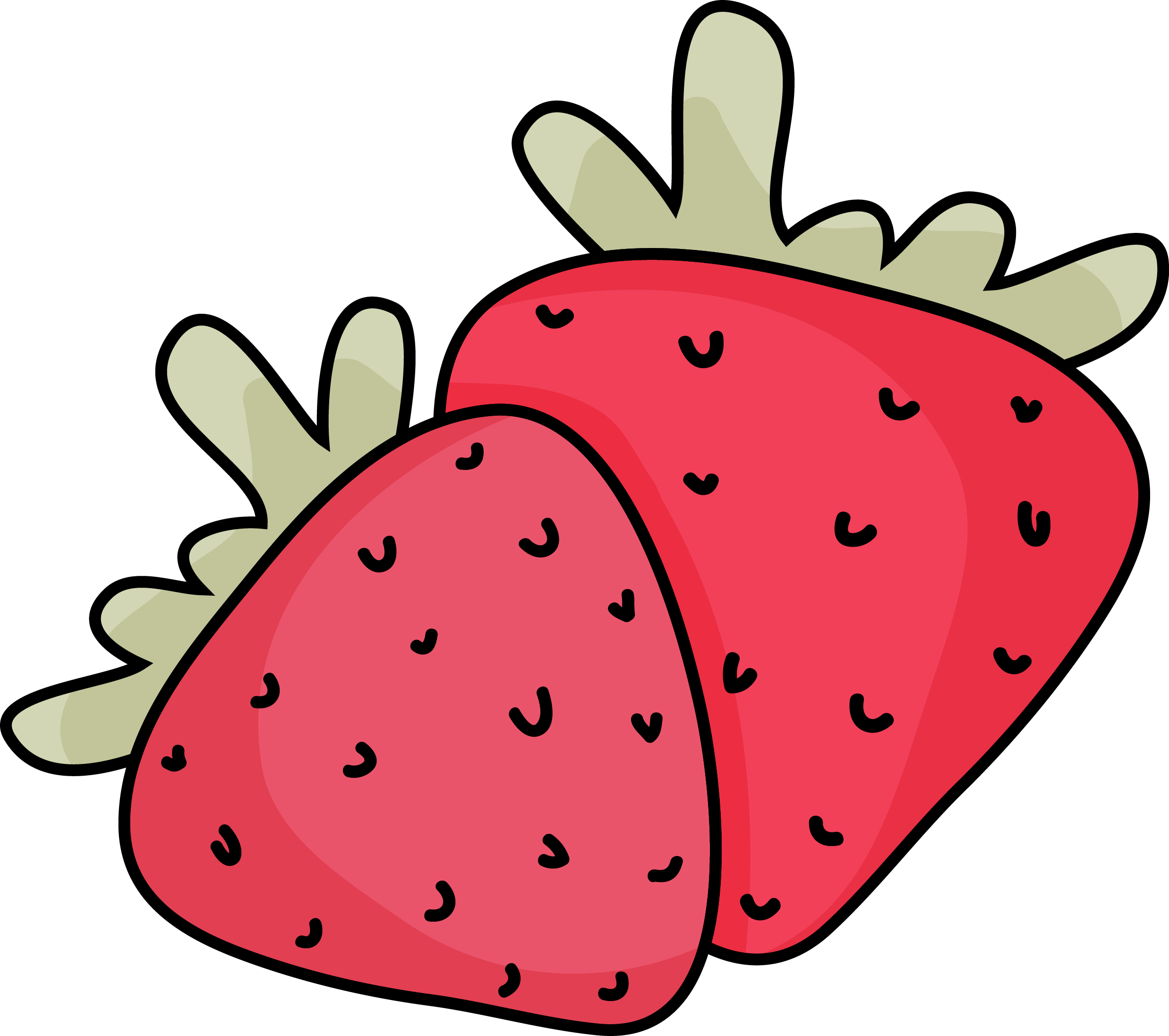 2475x2193 Collection Of Free Strawberry Drawing Simple Download On Ui Ex
