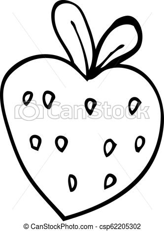 333x470 Line Drawing Cartoon Strawberry Fr