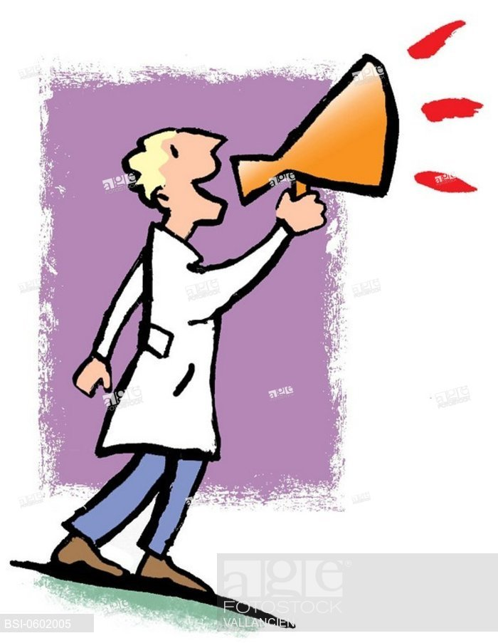 700x903 Doctor On Strike Draw, Stock Photo, Picture And Rights Managed