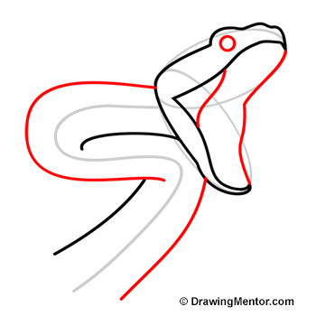 350x350 How To Draw A Snake
