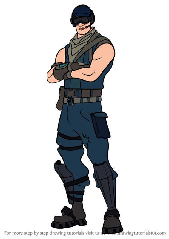 566x800 Learn How To Draw First Strike Specialist From Fortnite