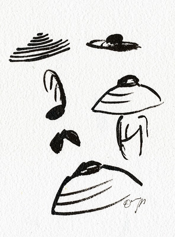 591x800 Strike A Line Dior Retro Hat Ink Line Drawing Elaine Biss