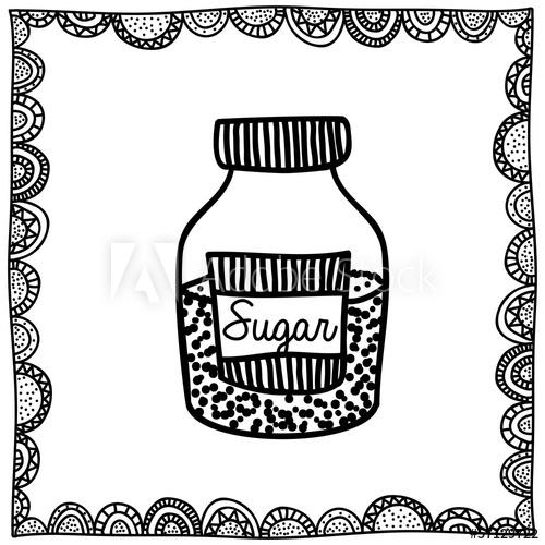 500x500 Sugar Drawing