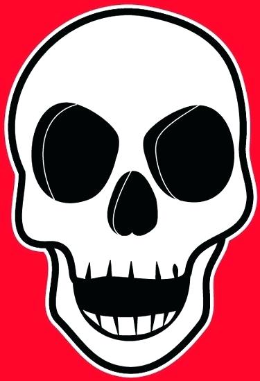 375x549 How To Draw A Simple Skull Coloring