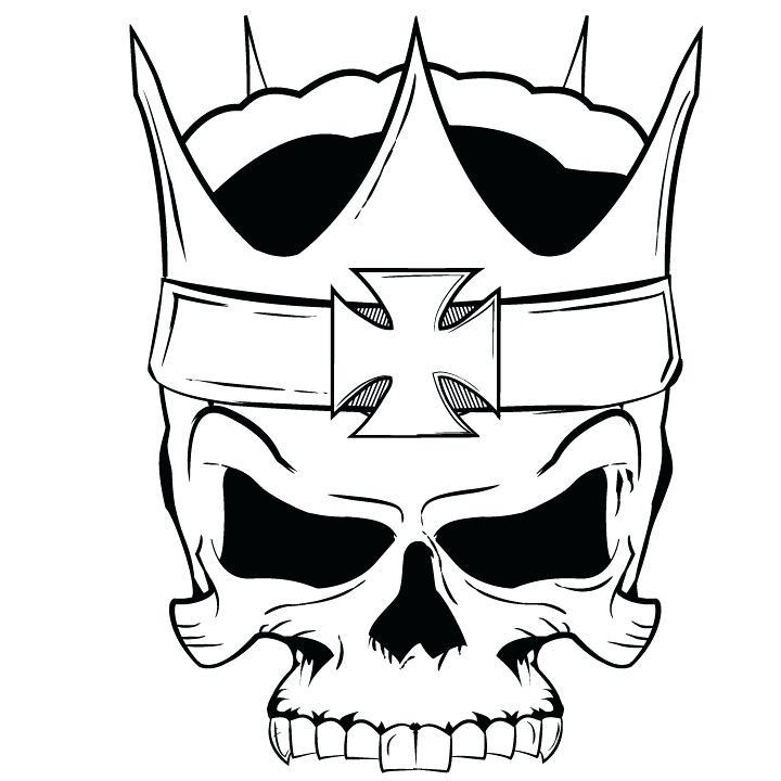 720x720 Cool Skulls Drawings