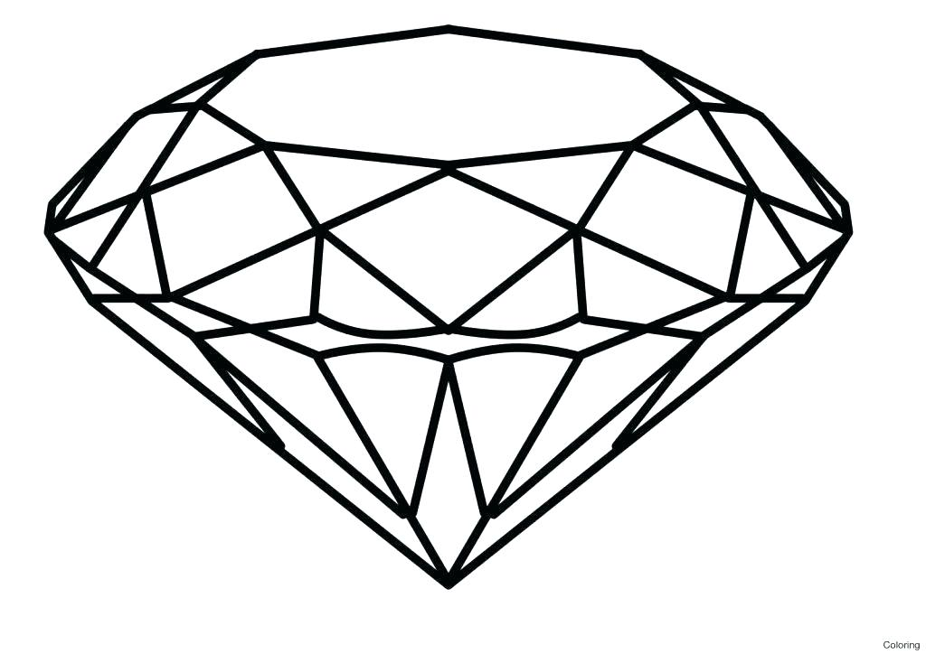 1024x724 Diamond Printable Sword Coloring Pages Diamond