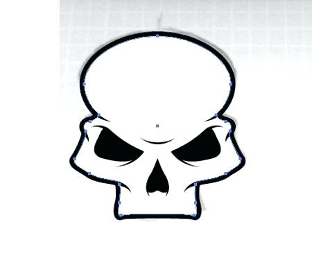 450x382 How To Create A Stylish Skull Based Vector Illustration Small