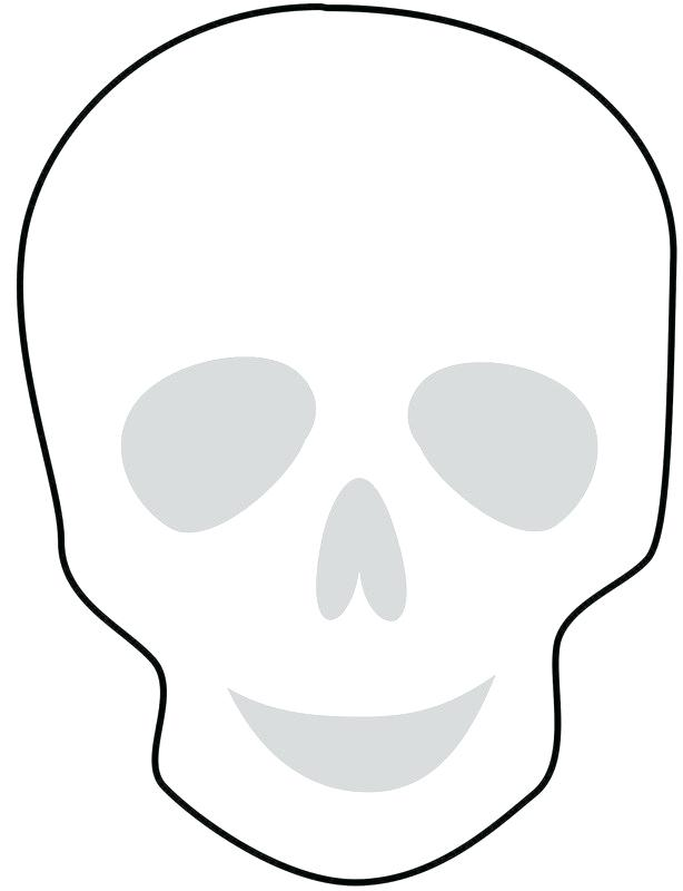 614x800 Simple Sugar Skulls Best Photos Of Sugar Skull Template Simple