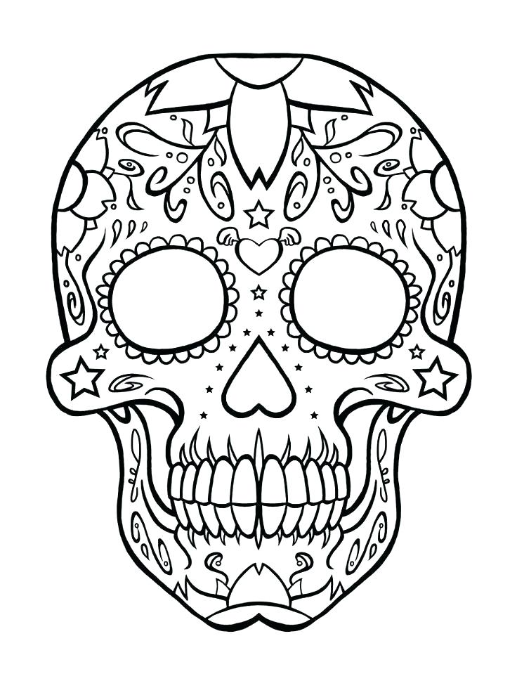 736x969 Skull Tattoo Designs Free Premium Templates Sugar Skull Tattoo