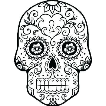 350x350 Printable Skull Mask Top Printable Sugar Skull Mask