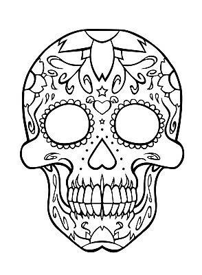 294x400 Sugar Skull