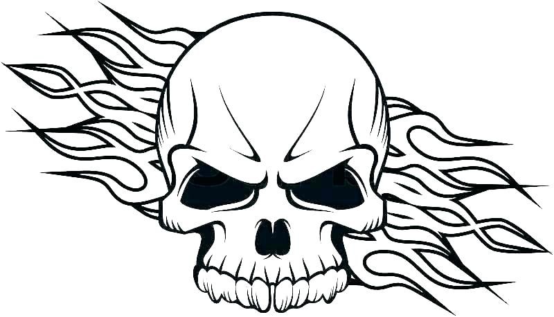 800x458 Small Skull Template