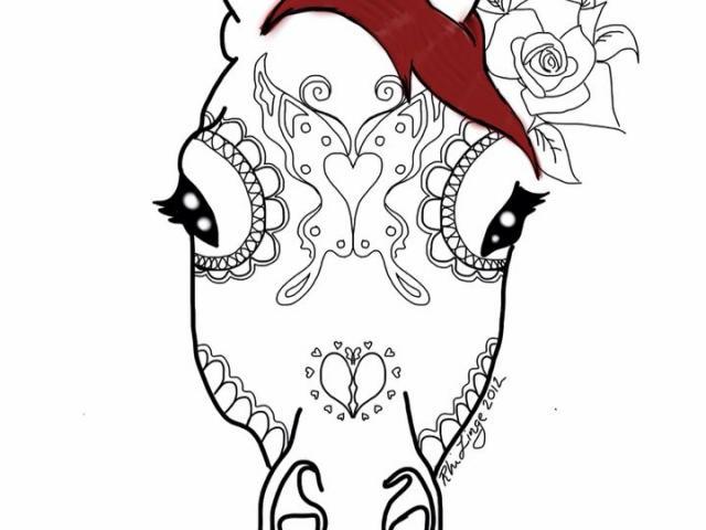 640x480 Free Sugar Skull Clipart, Download Free Clip Art