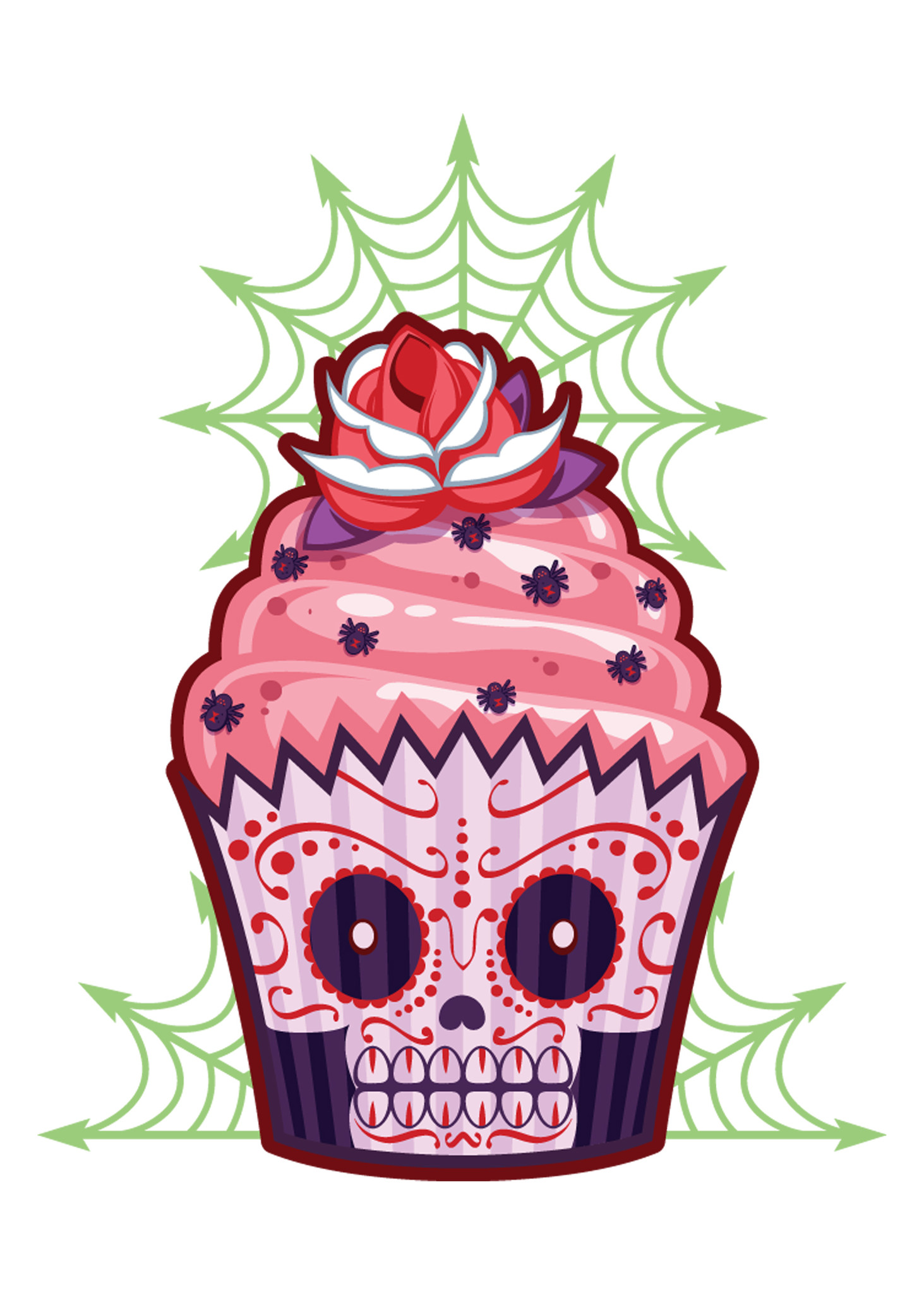 Sugar Skull Tattoo Drawings
