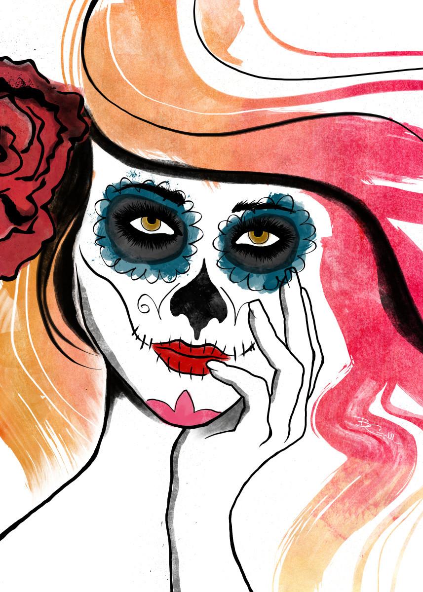 857x1200 Skull Posters
