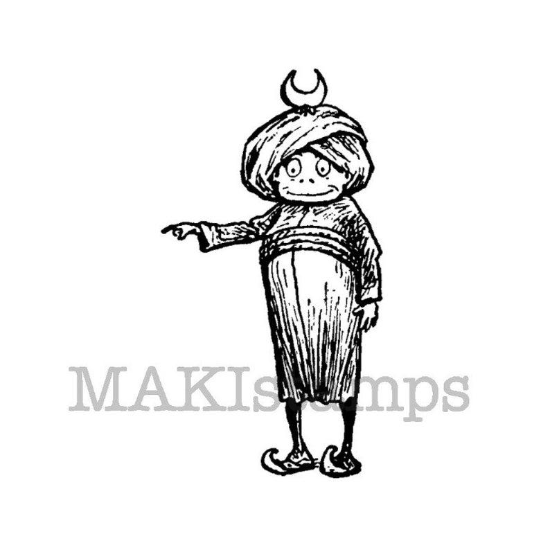 794x794 oriental rubber stamp brownie turkish sultan brownie etsy