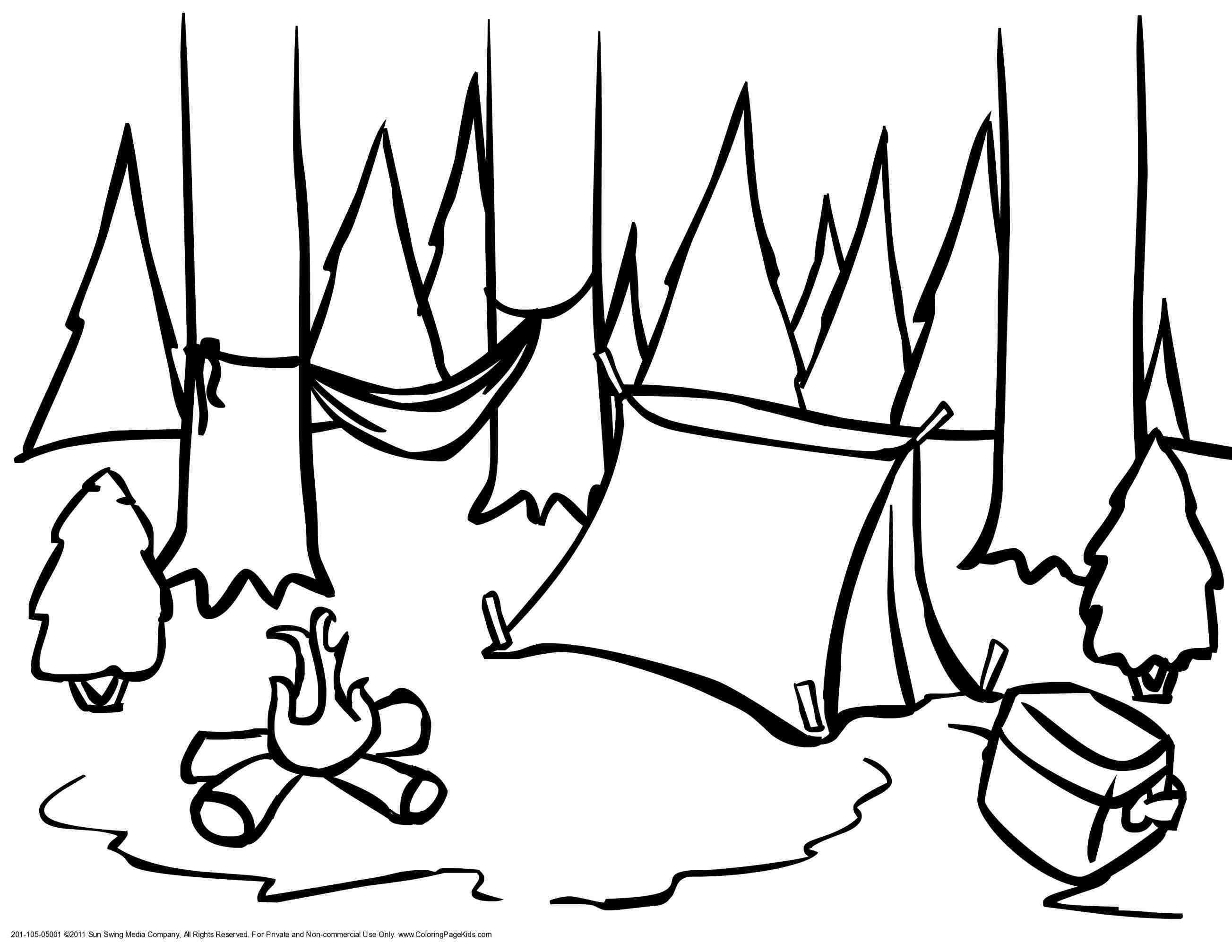 Summer Camp Drawing