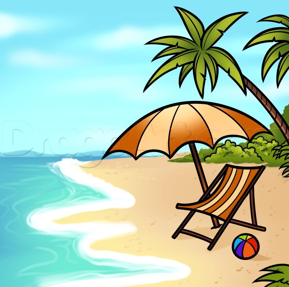 Summer Vacation Drawing