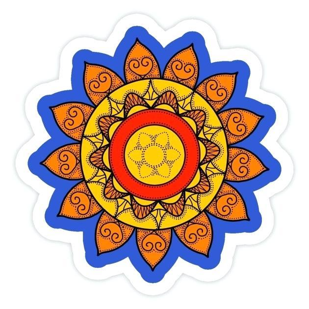 630x630 sun mandala golden sun mandala vertical sun and moon mandala